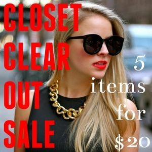 Jewelry - 🔖 SALE 🔖 CLOSET CLEAR OUT 5️⃣ FOR 💲2️⃣0️⃣